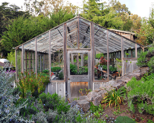 75 Trendy Shabby-Chic Style Greenhouse Design Ideas - Pictures of ...