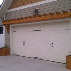 Traditional Garage And Shed by Trimmed Out