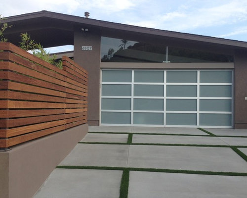 Midcentury garage and shed design ideas pictures remodel for Mid century modern shed