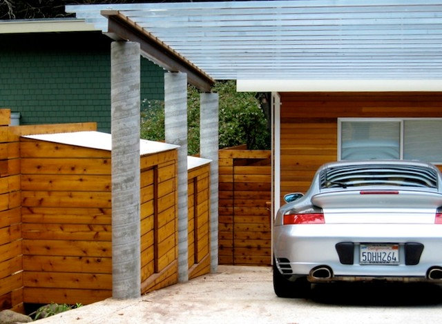 Modern Garage And Shed by Andrew Feldon