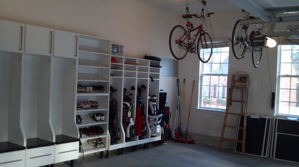 Traditional Garage And Shed by Dream Closets, Inc