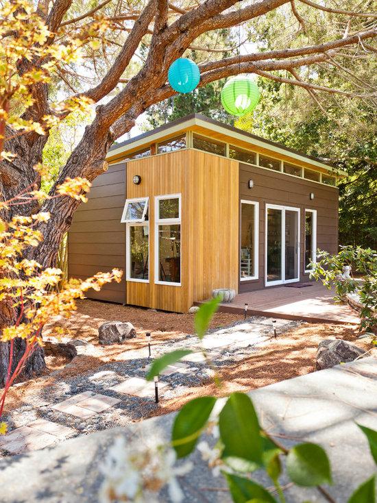 Modern Arts Crafts Interior Garage and Shed Design Ideas