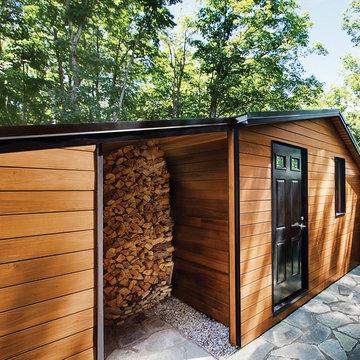 Modern Chic Storage shed