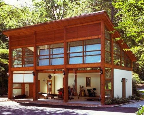 Modern 2 Story Garage and Granny Flat Design Ideas Renovations