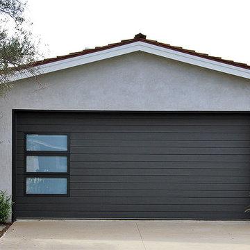 Modern Garage Door & Gate Project for an Eclectic Designed Home in Newport Beach
