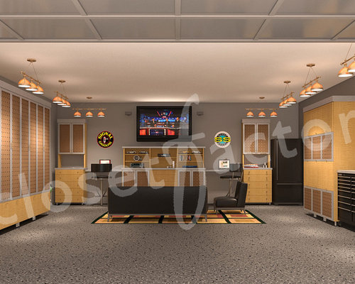 Man Cave Examples : Garage man cave home design ideas pictures remodel and decor