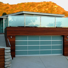 Modern Garage And Shed by Avalon Construction Corp