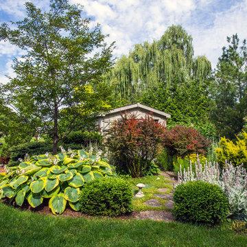 Modern New England Inspired Outdoor Living