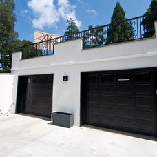 Modern Garage And Shed by Andrew Roby General Contractors