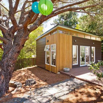 Modern-Shed Art Studio | Exterior