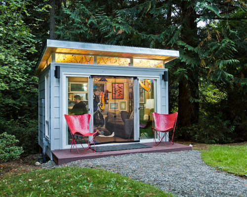 ModernShed Seattle home office
