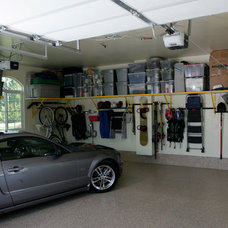 Traditional Garage And Shed by Garage Storage New England