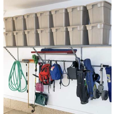 Traditional Shed by Monkey Bars Garage Storage Systems