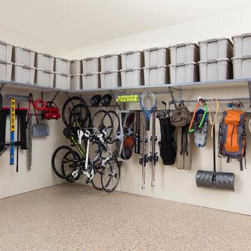 Monkey Bars Shelf/Rack system