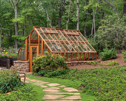elegant detached greenhouse photo in atlanta