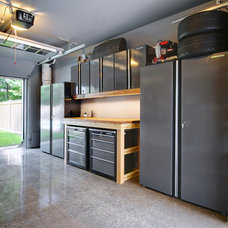 Craftsman Garage And Shed by Eurodale Developments Inc