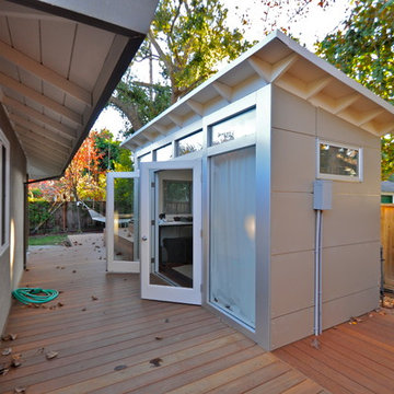 Music Studio Shed Office 8x14