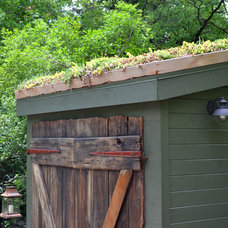 Rustic Garage And Shed by Colleen Brett