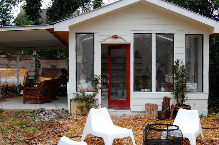 Eclectic Garage And Shed by Corynne Pless