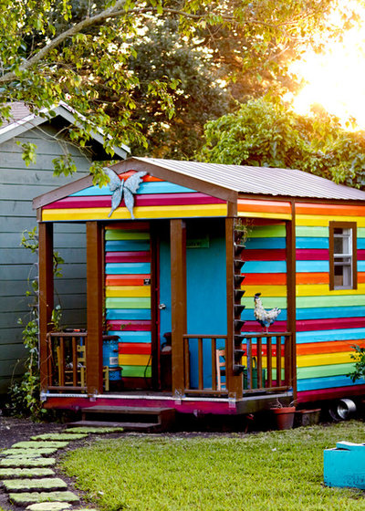 Eclectic Shed by Rikki Snyder