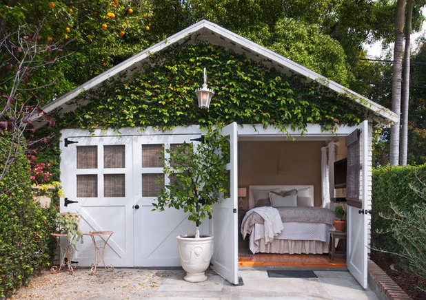 Shabby-chic Style Shed by Carolyn Reyes