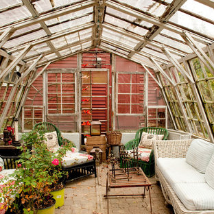 Shed - shabby-chic style shed idea in Boston