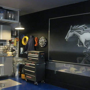 Studio / workshop shed - eclectic studio / workshop shed idea in Montreal