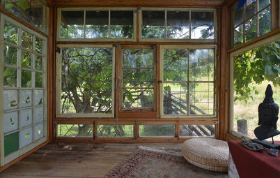 Usa Houzz A Rustic Cabin With Exquisite Views