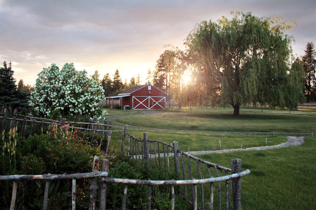 Usa Houzz First Home Owners Make Rural Homestead Their Own