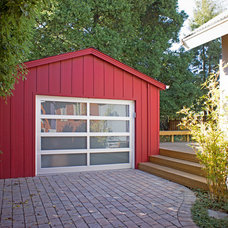 Contemporary Garage And Shed by Hoi Ning Wong