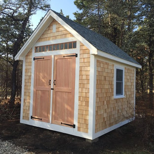 Example of a mountain style shed design in Boston
