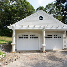 Traditional Garage And Shed by Dvisionone Architects