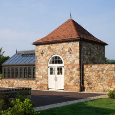 Traditional Garage And Shed by John Milner Architects, Inc.