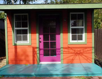 New Orleans backyard retreat