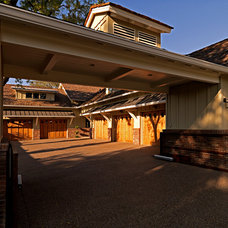 Craftsman Garage And Shed by Higgins Architects
