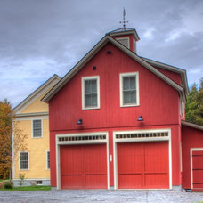 Traditional Garage And Shed by Vermont Vernacular Designs