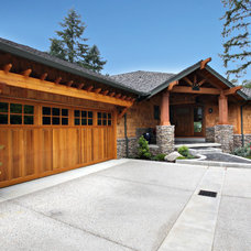 Traditional Garage And Shed by Nordby Design Studio, Architecture & Interiors LLC