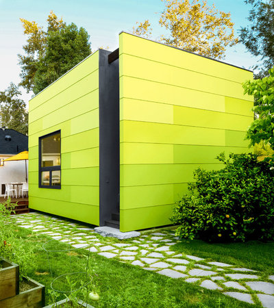 Contemporary Garden Shed and Building by Tamara Leigh Photography