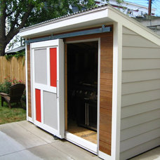 Contemporary Garage And Shed by ANDERSON DESIGN+BUILD