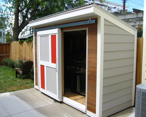 Sliding Door Shed Houzz