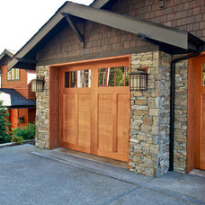 Traditional Garage And Shed by PCS Design: Residential, Remodel, New Construction