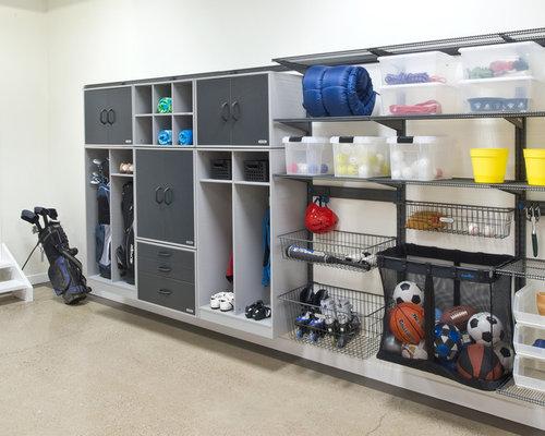 Garage gym storage home design ideas pictures remodel