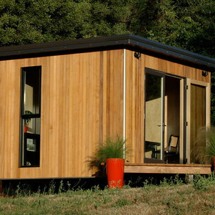 This is an example of a modern shed and granny flat in San Francisco.