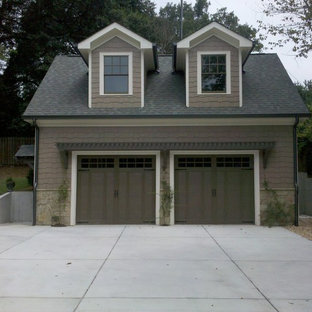 This is an example of a traditional garden shed and building in Atlanta.