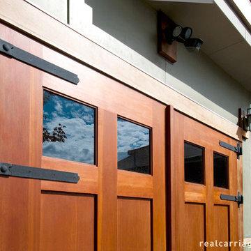 Outswing Carriage Garage Doors