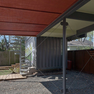 Shed - small contemporary shed idea in Houston
