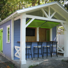 Tropical Garage And Shed by Historic Shed