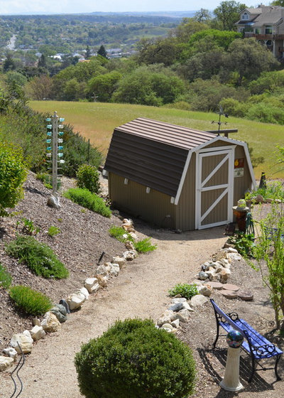 Farmhouse Shed by Sarah Greenman