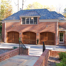 Traditional Garage And Shed by Cox Architecture and Design