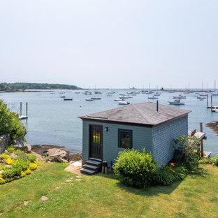 Coastal detached studio / workshop shed photo in Portland Maine
